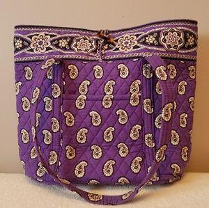 Vera Bradley XL Vera Tote Simply Violet